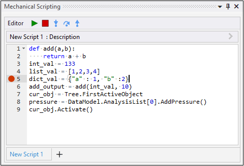 Debugging Scripts and Extensions 2021 R1 1